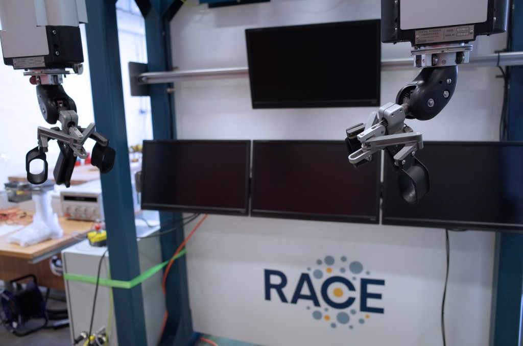 RACE in pole position to boost UK robotics